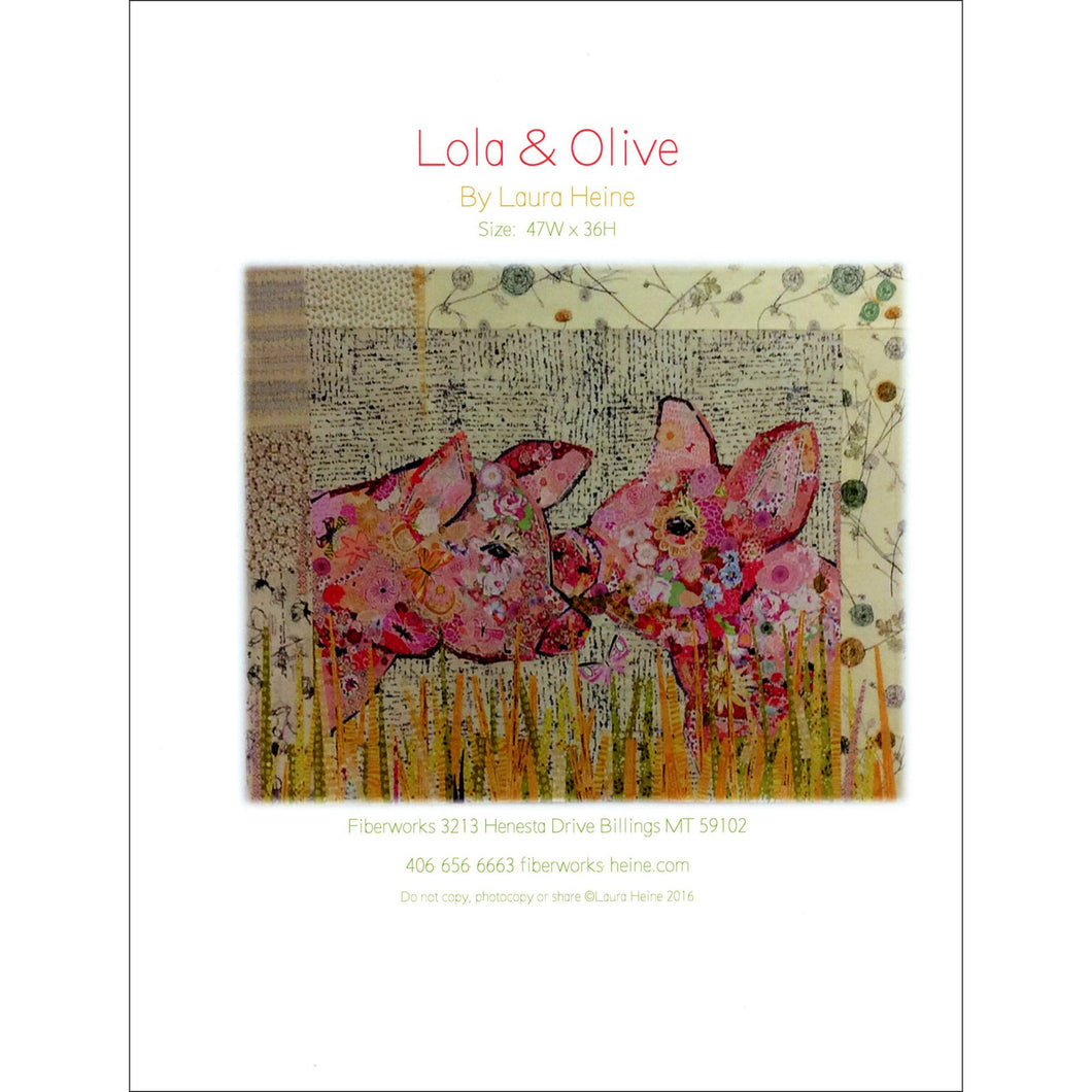 Laura Heine Patterns – Lola & Olive Collage