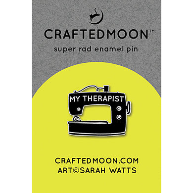 Moda Enamel Pins - My Therapist CM ENP 002 Craftedmoon