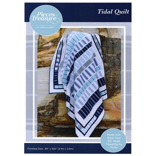 Pieces to Treasure: Tidal Quilt Pattern - PTT199