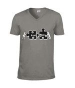 Destiny puzzle - T-shirt V-neck