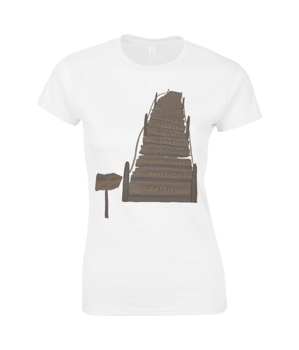 The bridge of life - T-shirt Premium Classic