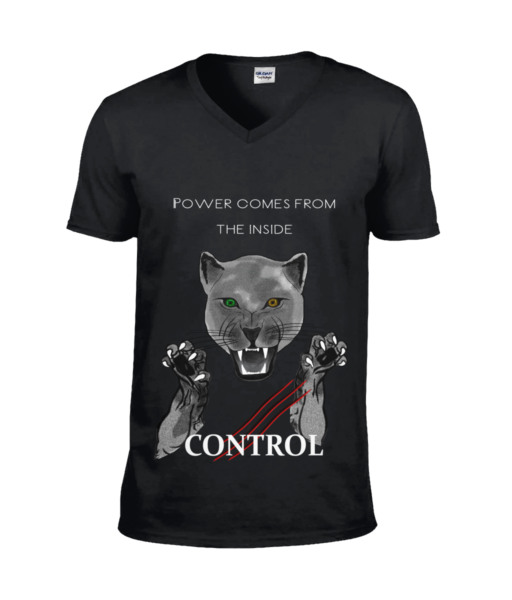 Control yourself - T-shirt V-neck