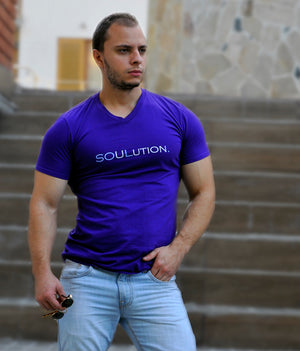 SOULution - T-shirt V-neck