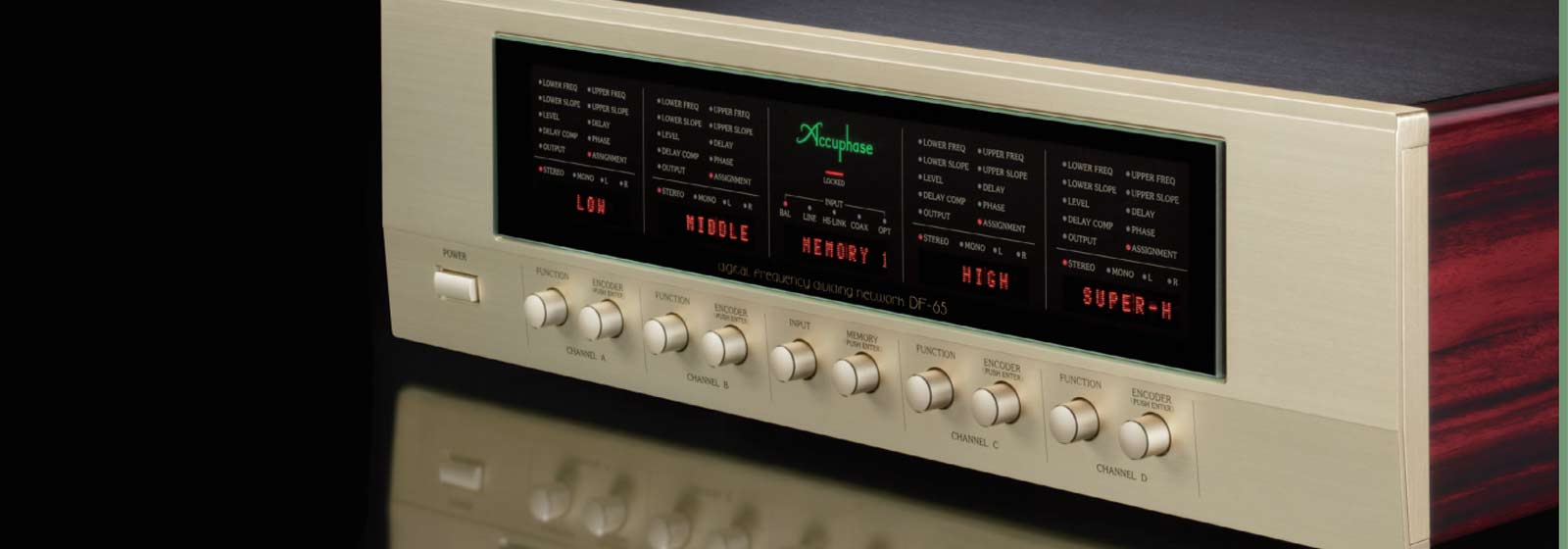 Accuphase-DF-65-Digital-Frequency-Dividing-Network