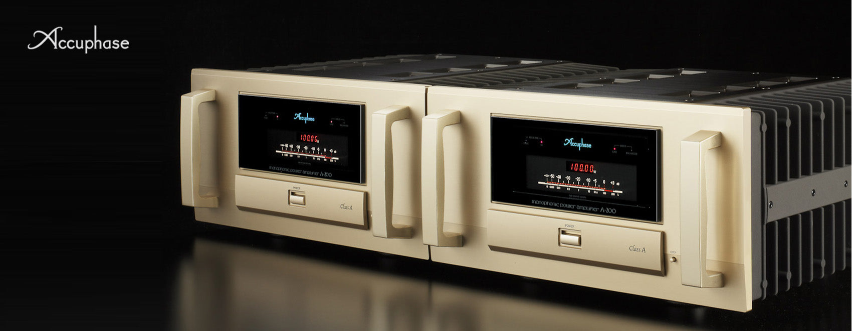 Accuphase integrated stereo amplifiers