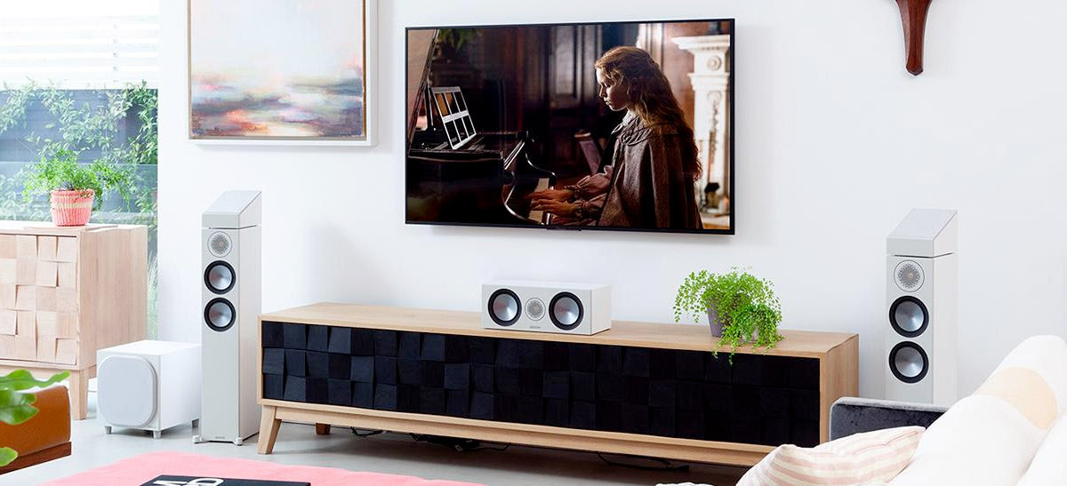 Dolby Atmos enabled Monitor Audio Bronze Speakers