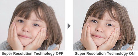 Epson Super Resolution & Detail Enhancement