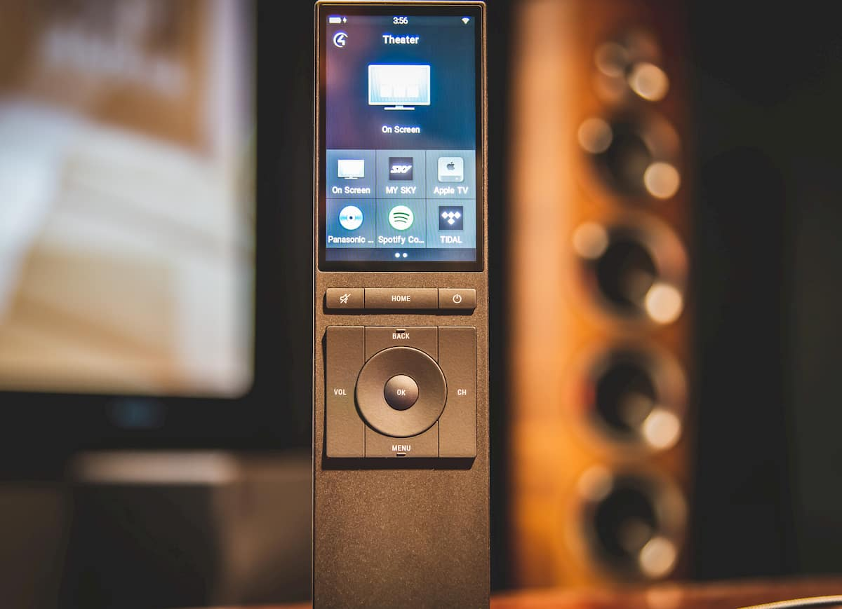Home theatre remote