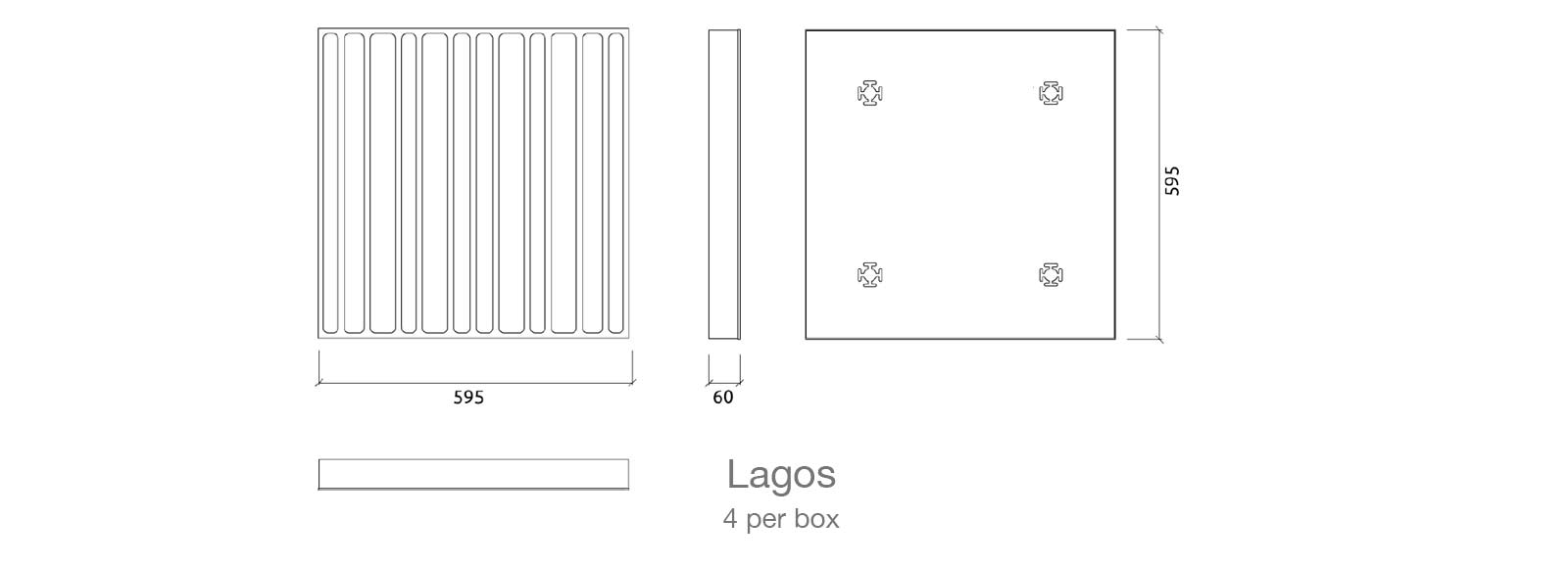 lagos absorber acoustic panel