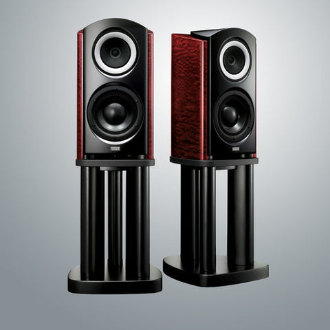 TAD Compact Reference MkII speakers on stands