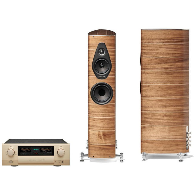 Accuphase and Sonus Faber Olympica Nova Music System