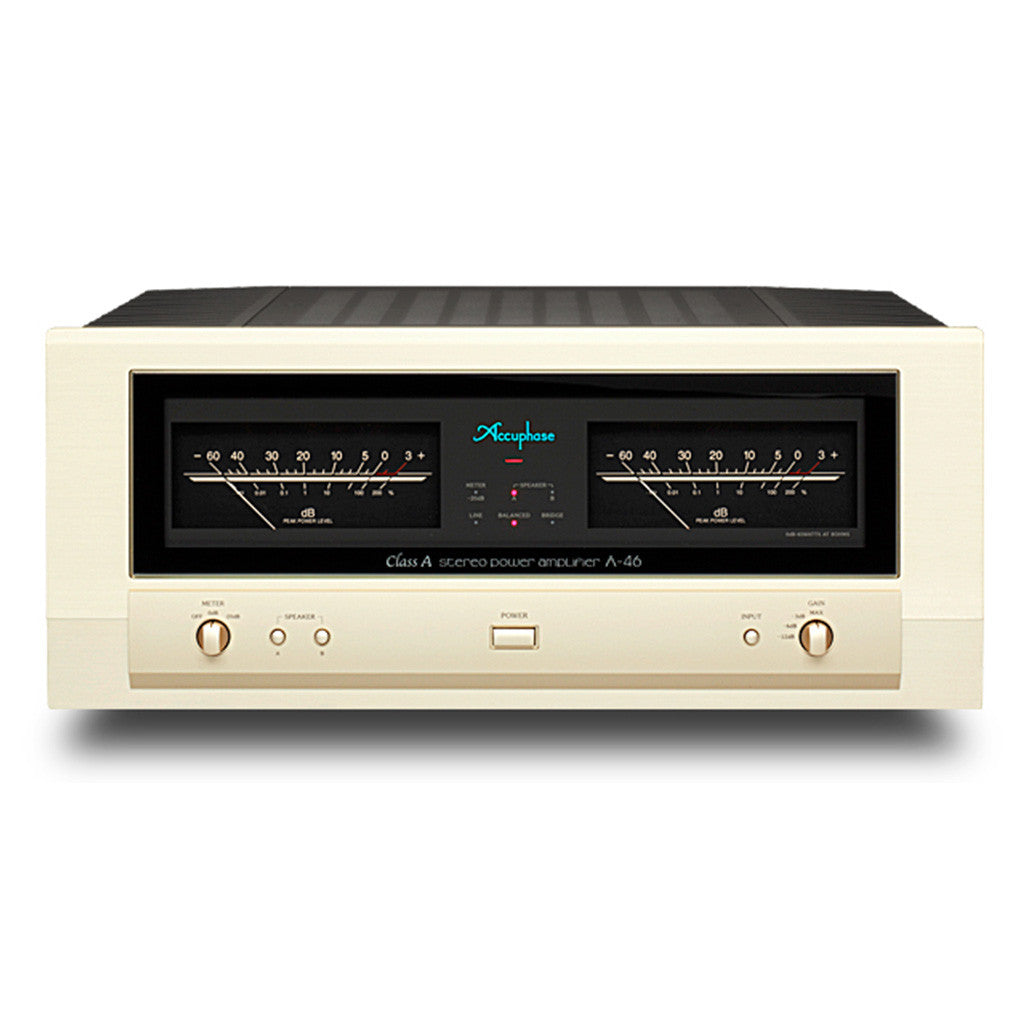 Accuphase A 47 Class Power Amp Soundline Audio Online Nz Amplifier With 60 Watts Output