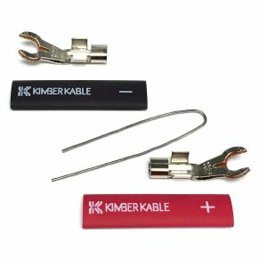 KIMBER Postmaster 8mm Spade Connector (Pair)