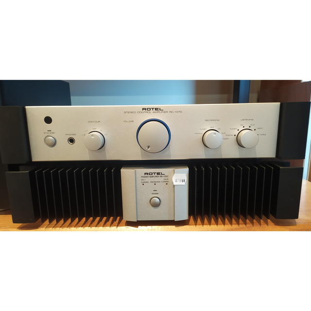 Rotel RB1050 + RC1070 Pre Amp & Power Amp Combo - Trade In