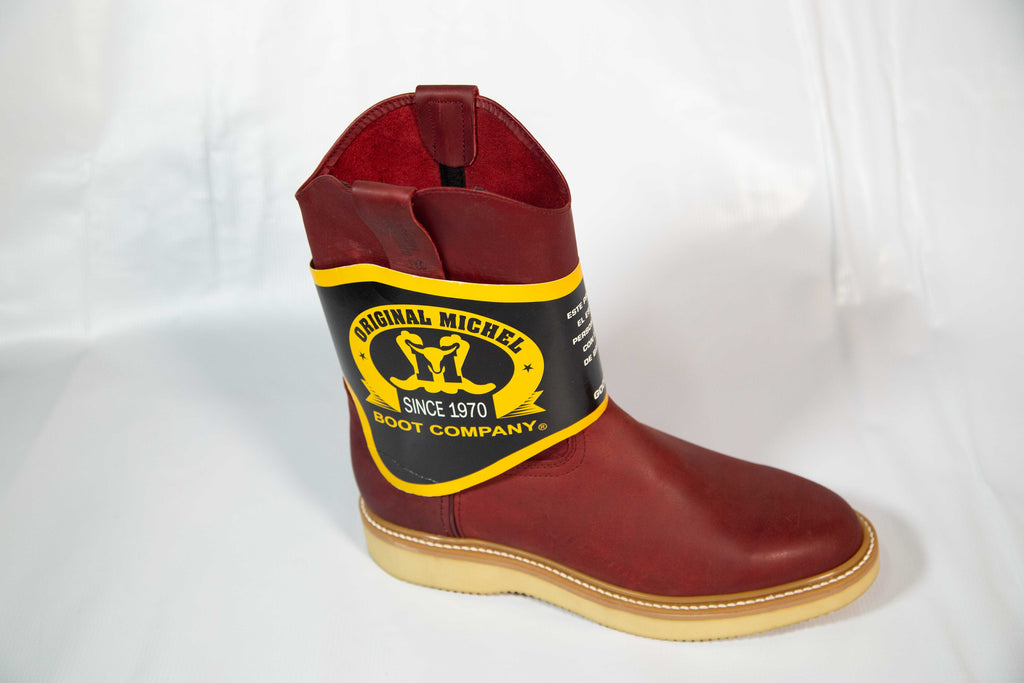 Red work boot (Original Michel)