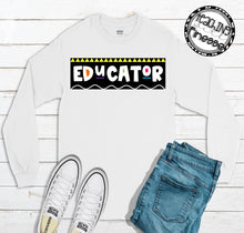 Load image into Gallery viewer, Educator Long Sleeve