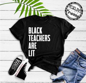 Black Teachers are Lit