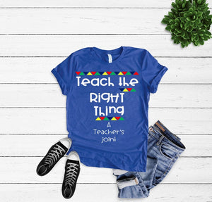 Teach the Right Thing