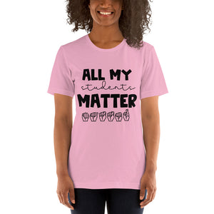 All My Students Matter (black font)