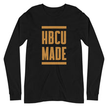 Load image into Gallery viewer, HBCU Made Long-sleeve (black drip)