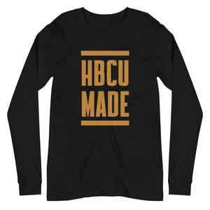 HBCU Made Long-sleeve (black drip)