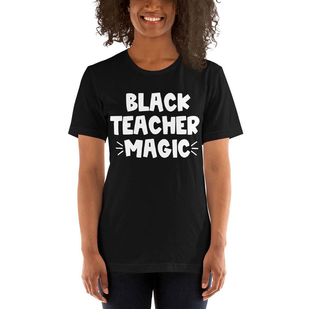 Black Teacher Magic (white)
