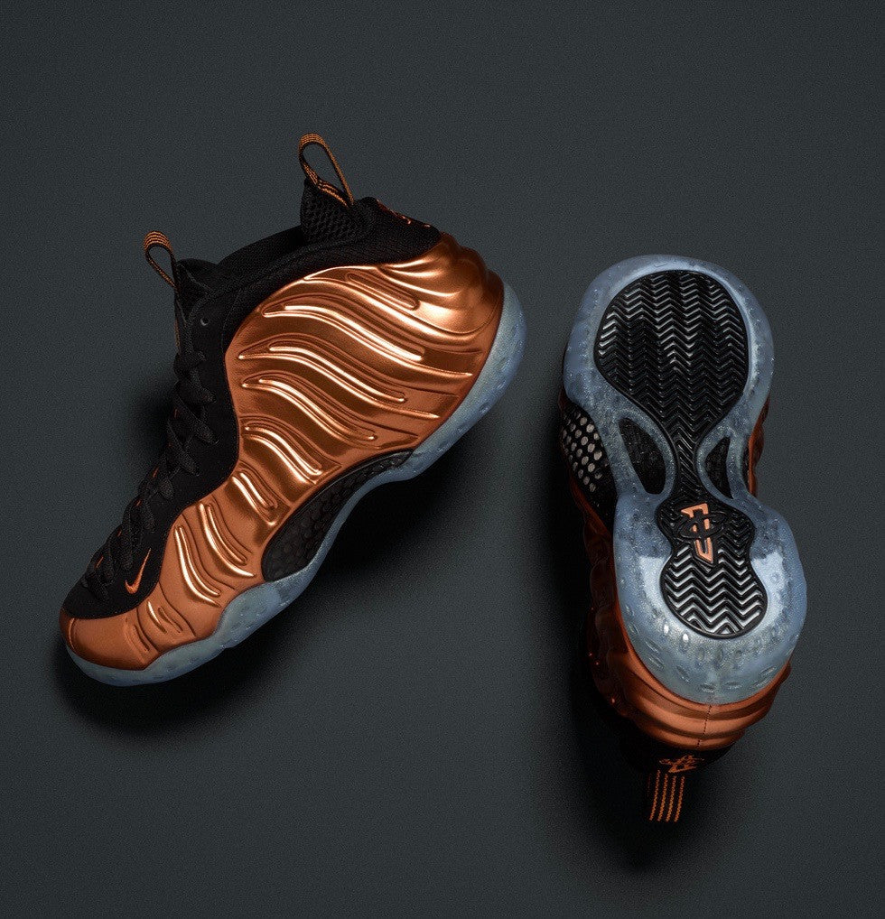 "Nike Air Foamposite One ""Metallic Copper"""