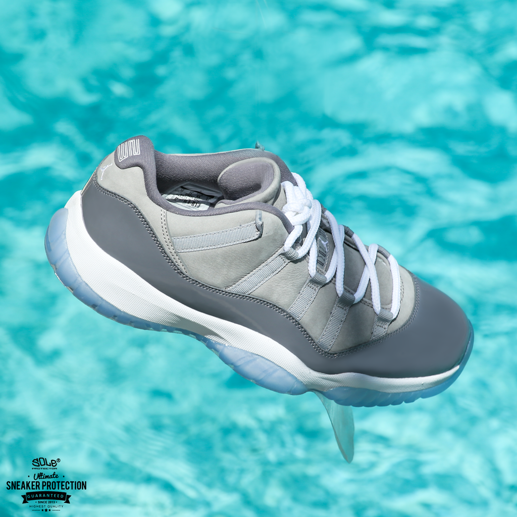 It IS Possible To Stay Cool While Wearing Cool Gray XI's