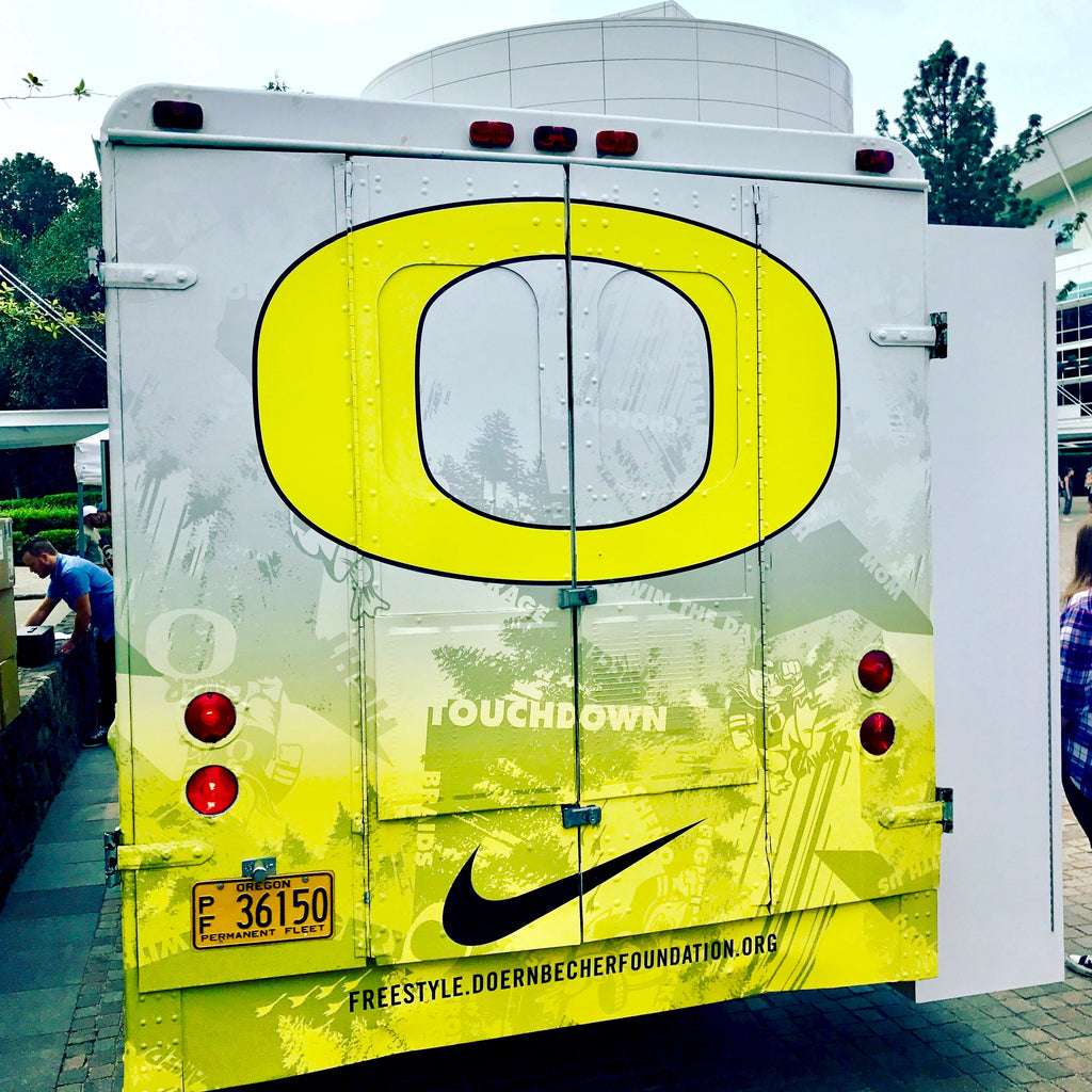 "Behind The Scenes: Nike Campus ""Duck Bus"""