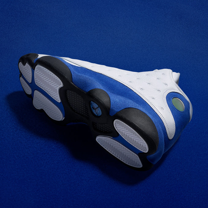 AIR JORDAN XIII WHITE/ROYAL OFFICIAL IMAGES