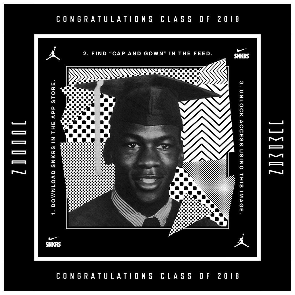 "Jordan Brand Gives Early Access To Air Jordan 11 ""Cap And Gown"" To High School Graduates"