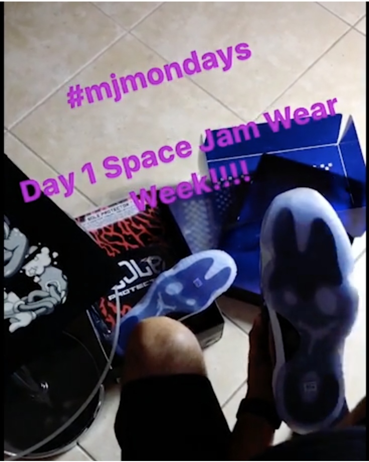 "1 WEEK WITH THE NIKE AIR JORDAN RETRO [11] XI ""SPACE JAM"" & SP PLUS [DAY 1]"