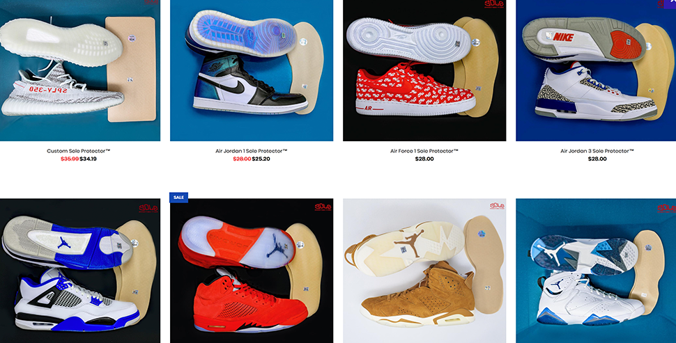 hot sale online 3b2f0 31e7b Keep Your Sole Clean!