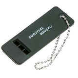 Survival Whistle, Plastic Loud Emergency Whistle-Survival-Outdoor Scores