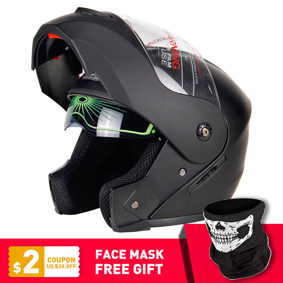Flip Up Motorcycle Helmet Full Face - outdoor-scores