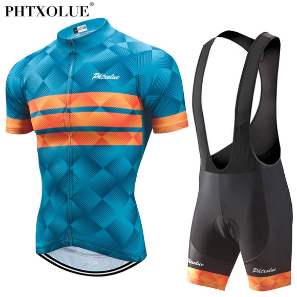 Phtxolue Cycling Breathable Anit-UV Clothing Men's Set - outdoor-scores