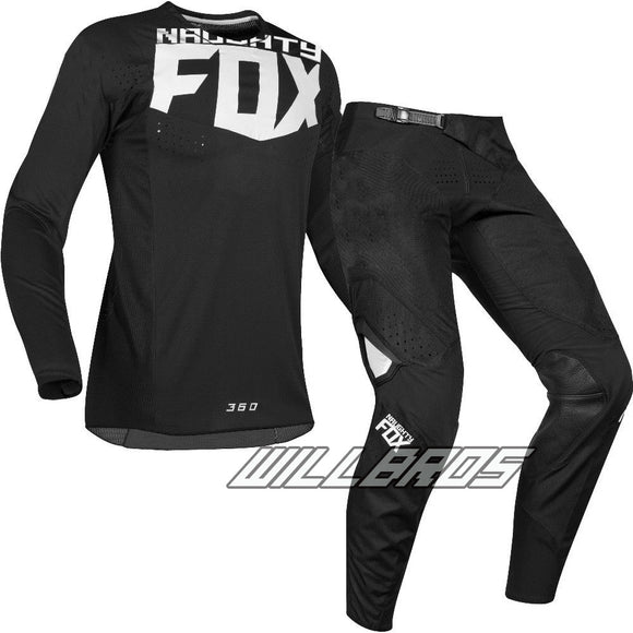 MX 360 Kila Black Jersey Pants Motocross Racing Men's Gear Set - outdoor-scores