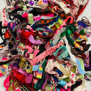 Grab Bag 20 assorted hair ties