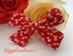 Little Bitty Bows~ Schoolgirl Bow