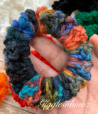 Crochet Scrunchy~ Multi color