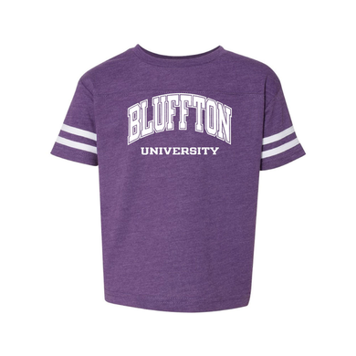 Toddler Fine Jersey Tee, Vintage Purple/ White