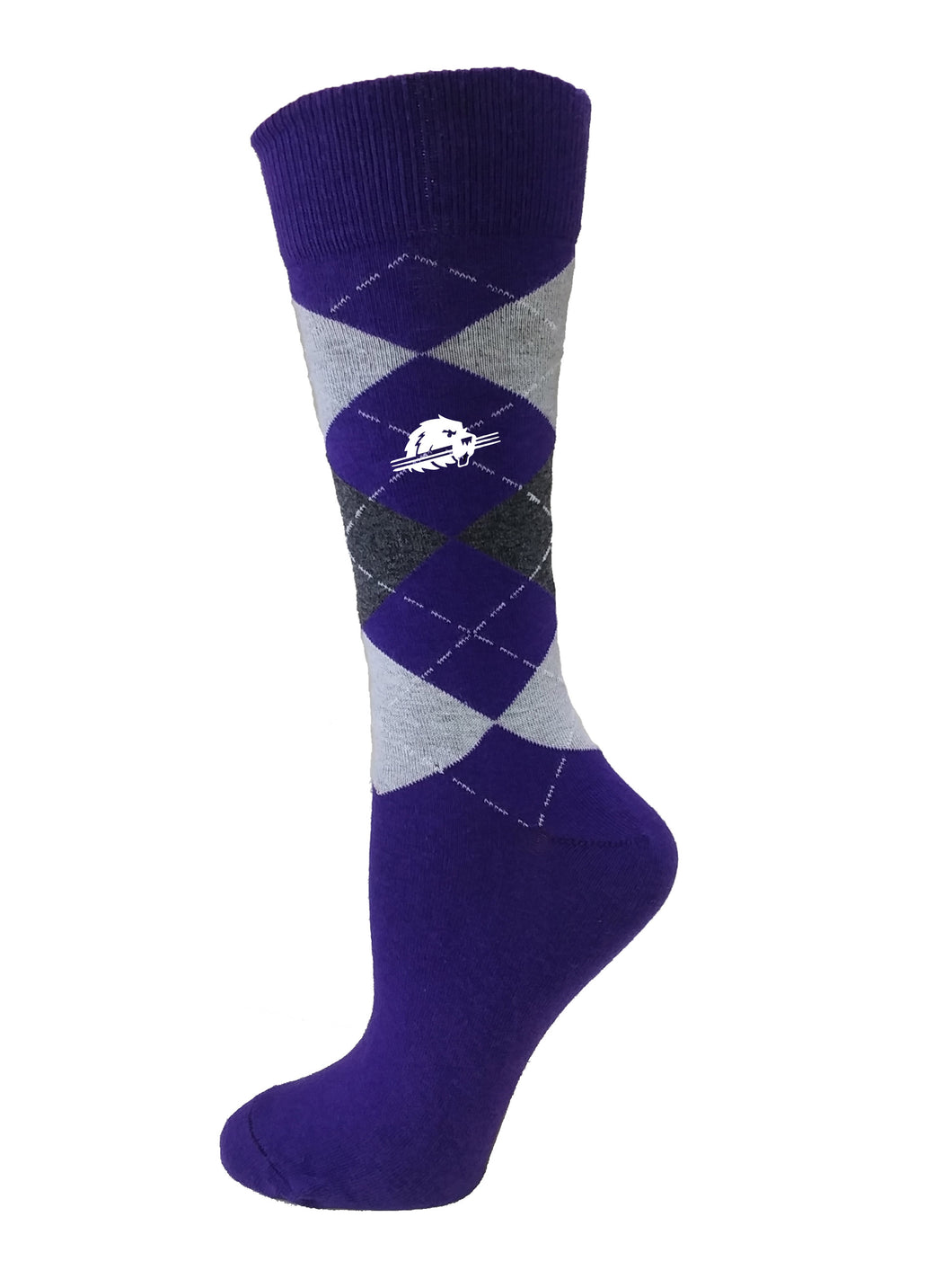 Argyle Socks, Purple