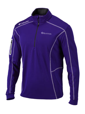 Columbia Men's Shotgun 1/4 Zip, Purple