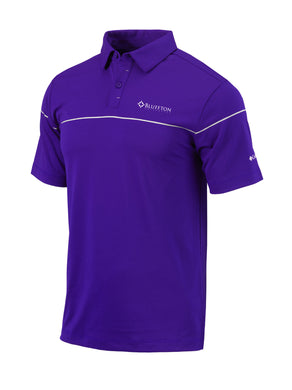 Columbia Men's Omni-Wick Breaker Polo, Purple