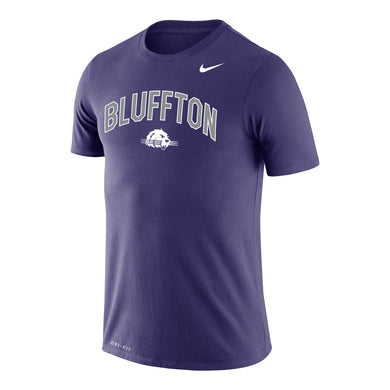 Nike Men's Dri-Fit Cotton Short Sleeve Tee, Orchid