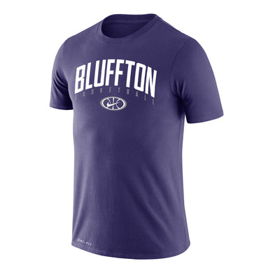 Nike Men's Dri-Fit Basketball Cotton Tee, Purple