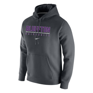 Nike Men's Club Fleece Hoodie, Anthracite