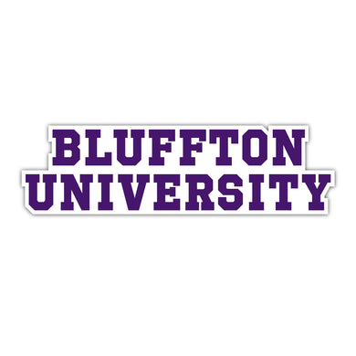 Bluffton Text Decal - D6