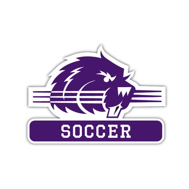 Bluffton Soccer Decal - M10