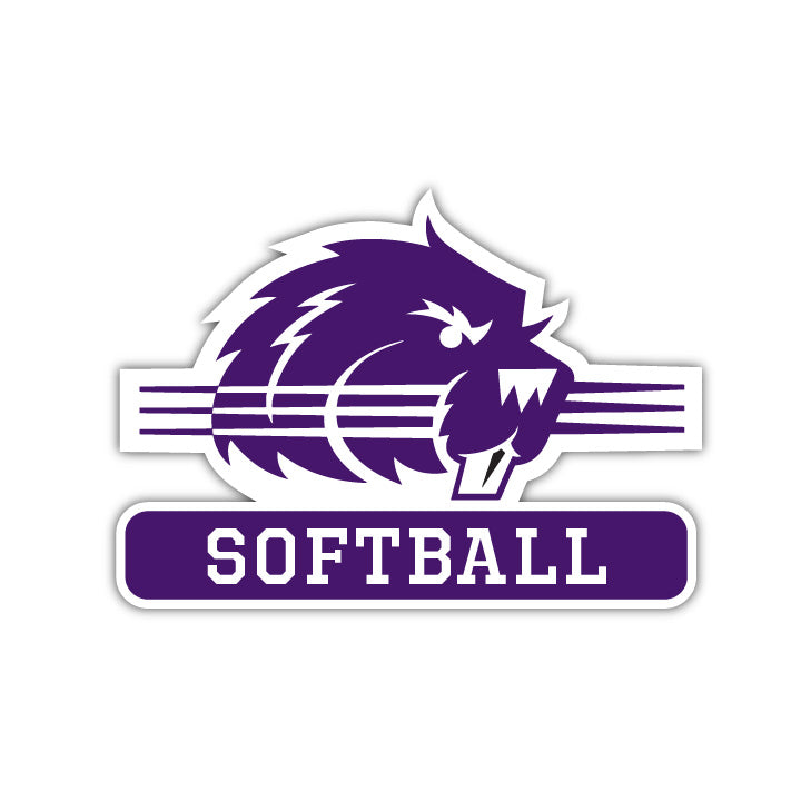 Bluffton Softball Decal - M11